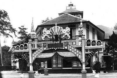 istana darul arif kesultanan serdang