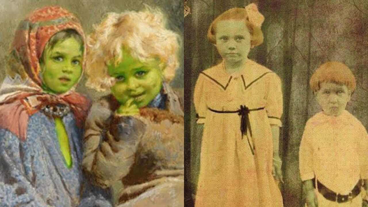 Yeşil Tenli Çocukların Hikayesi