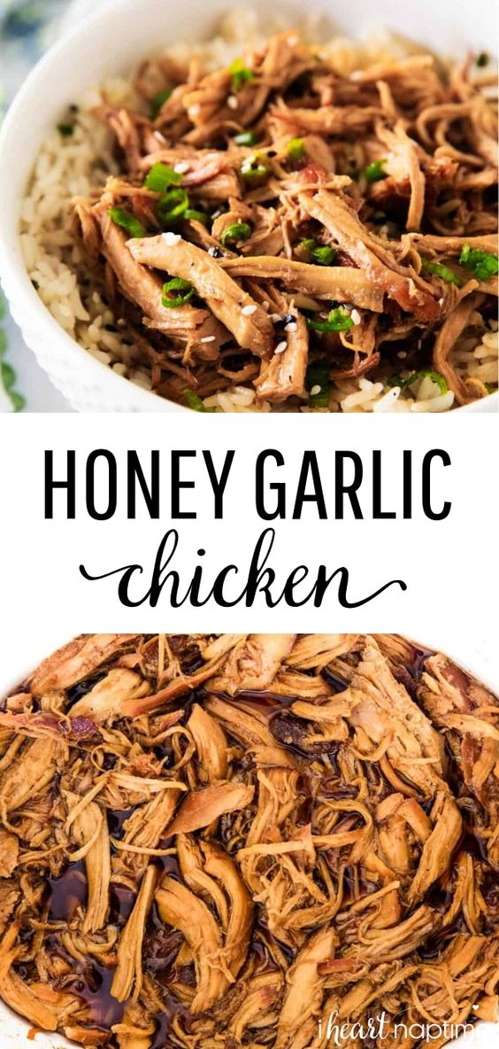 Slow Cooker Honey Chicken - One of my favorite crockpot chicken recipes that's quick, flavorful and absolutely delicious. This healthy crockpot chicken comes out perfectly tender every time!
