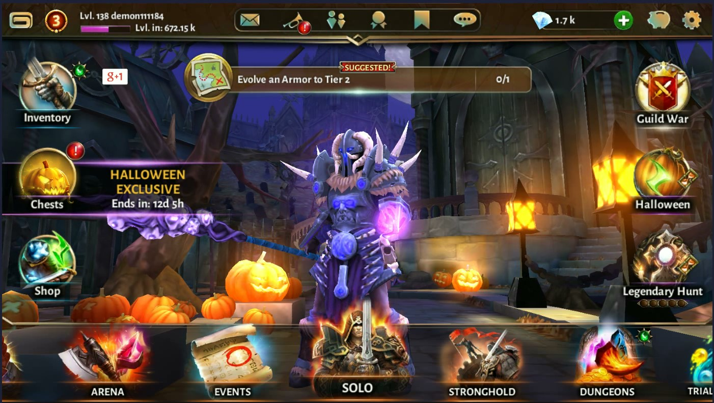 Image result for Dungeon & Heroes android game pic