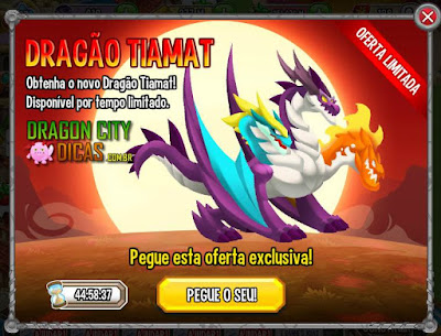 Oferta do Dragão Tiamat!