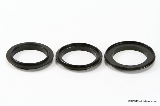 Reverse Mount Lens Adapter Rings for Canon EF Mount