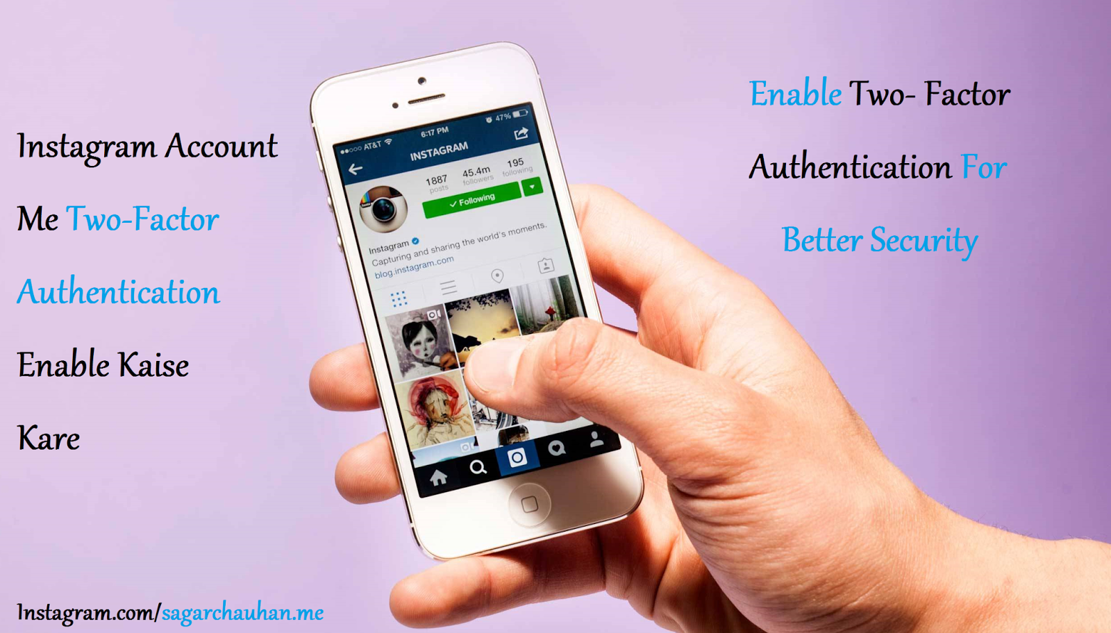 Instagram Account Me Two-Factor Authentication Enable Kaise kare