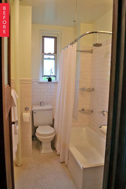 banheiro antes depois