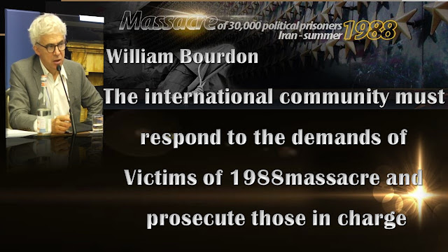 William Bourdon, the NCRI's French lawyer