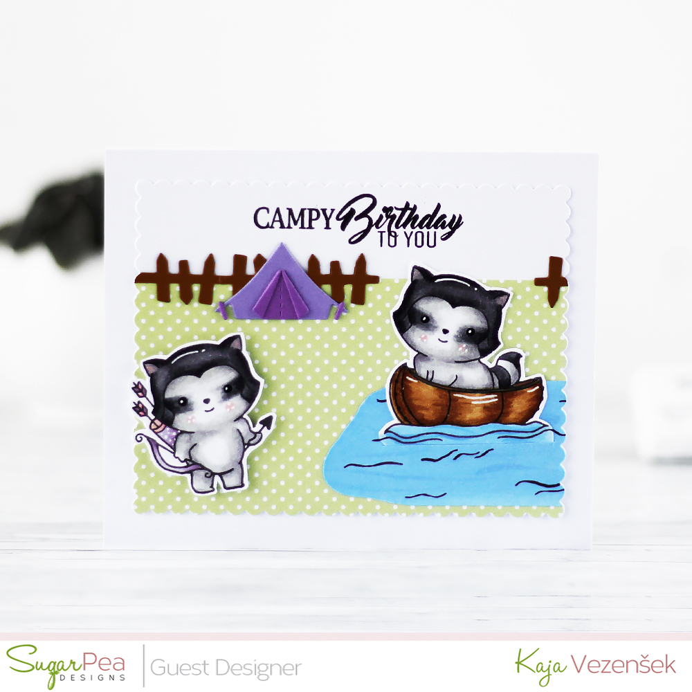 Campy birthday | SugarPea