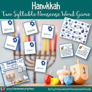 https://www.teacherspayteachers.com/Product/Hanukkah-Two-Syllable-Nonsense-Word-Game-428155?utm_source=hanukkah%20blog%20post&utm_campaign=Hanukkah%20Two%20syllable%20nonsense%20words