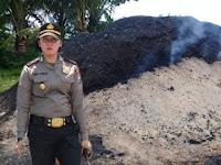 Polres Pangkep Akan Panggil DLH dan Lurah Tekolabbua Terkait Keberadaan Batu Bara Ilegal