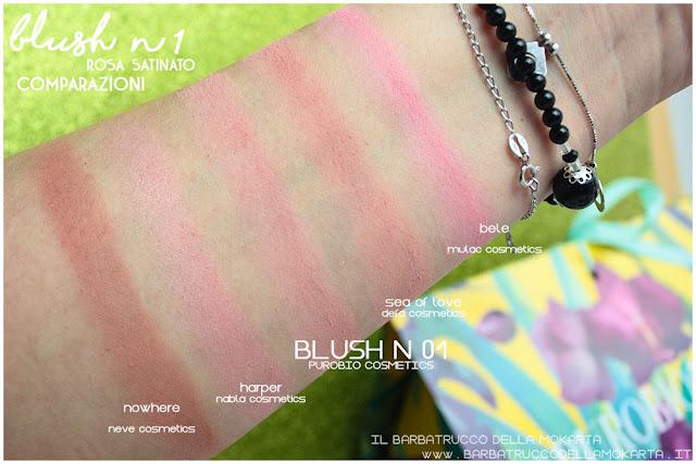 blush 1 rosa satinato purobio recensione review comparazioni
