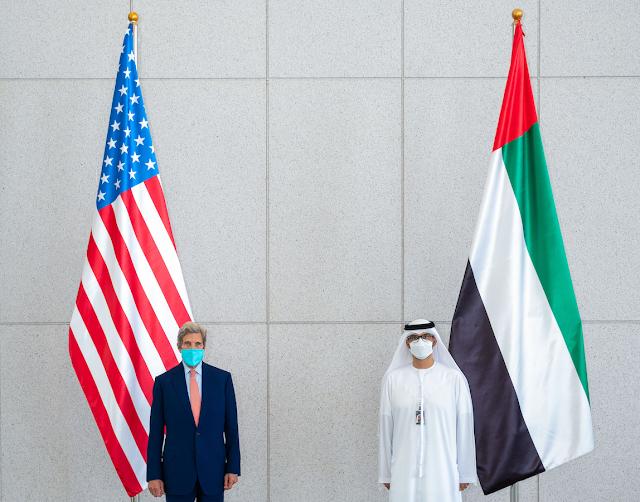 UAE - US Climate Envoys meet ahead of COP 26