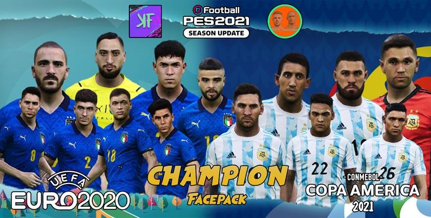 Champion Facepack 2021 For eFootball PES 2021