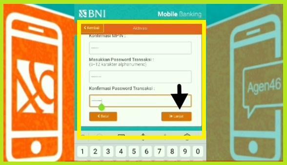 Cara Aktivasi BNI Mobile Banking Via Hp Android 5