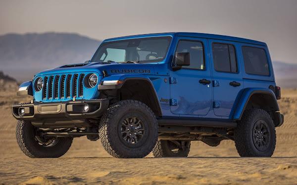 Novo Jeep Wrangler Rubicon 392 chega aos EUA em 2021