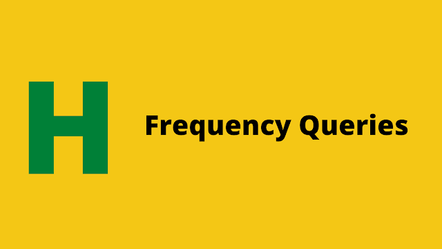 HackerRank Frequency Queries Interview preparation kit solution