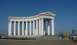 Одесса. Бельведер Воронцовского дворца. 1828 г.