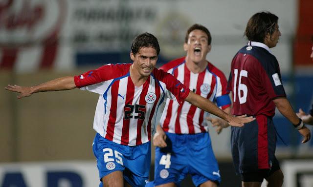 Paraguay y Chile en Clasificatorias a Alemania 2006, 30 de marzo de 2005