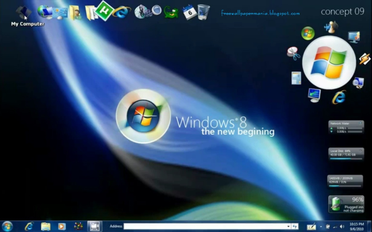 Ultimate Clean 8 Theme For Windows 8 50 Best Windows 7 Desktop