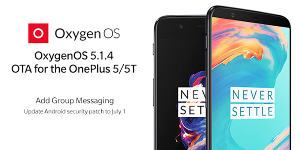 OnePlus 5 and OnePlus 5T receive OxygenOS 5.1.4 update