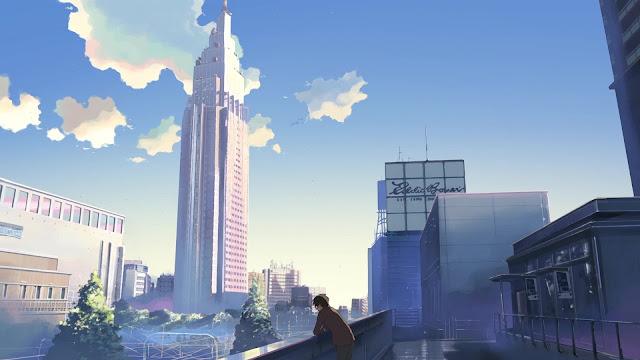 Một Số  Ảnh Nền  cực đẹp trong anime 5cm trên giây FULL HD Cực Đẹp  | Anime Wallpaper