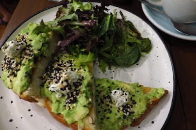 Forty Hands, avocado toast