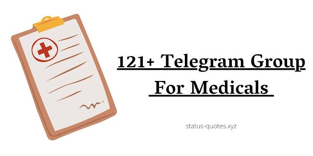 Telegram Group For Medicals