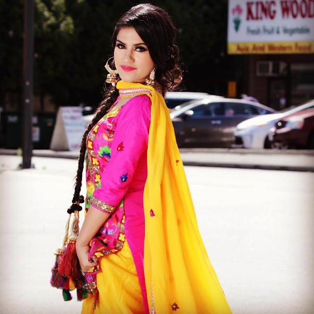 Kaur B in Punjabi Suit Wallpapers - Photoshoot - picpile