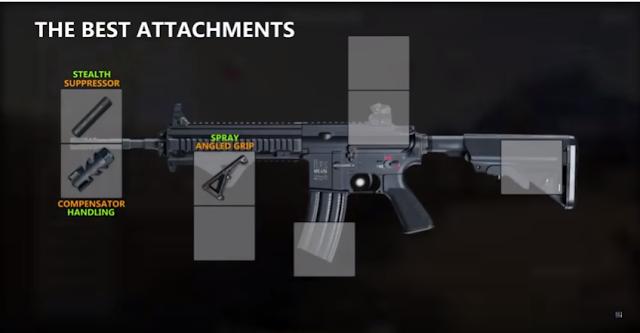 Senjata PUBG M416 (0.257 detik)