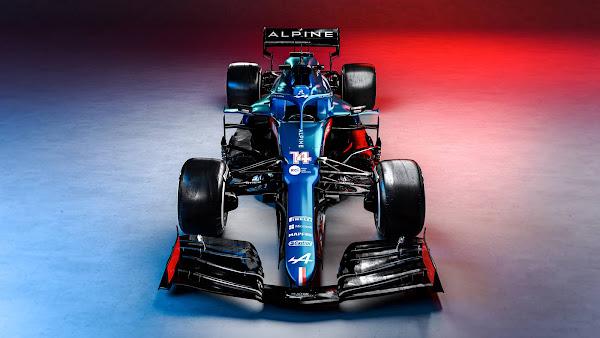 Alpine, da Renault, apresenta carro 2021 para a Fórmula 1