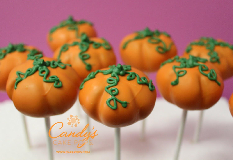 Pumpkin Shaped Cake Pops