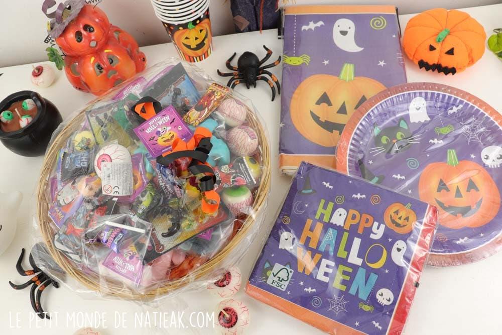 décoration et bonbons d'Halloween Génération souvenirs