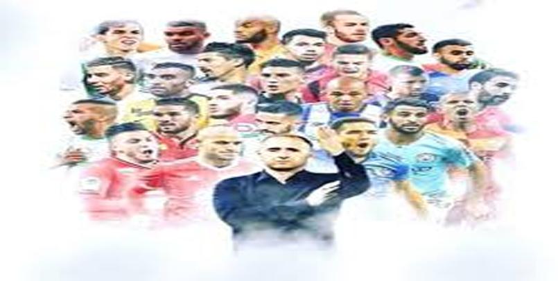 صورة تجمع اللاعبين الجزائريين المحترفين