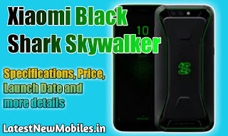 Xiaomi Black Shark Skywalker Specifications