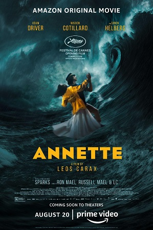 Annette (2021) Full English Movie Download 480p 720p Web-DL