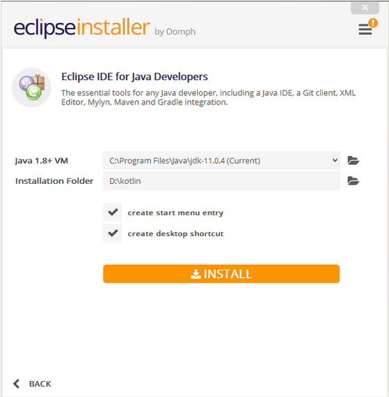 How to install Eclipse IDE for Java Developers