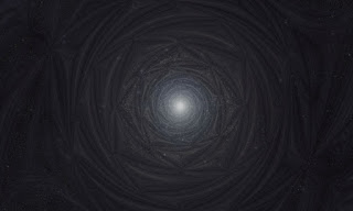 The Star Light of Sirius - Cosmic Mandala.