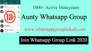 [1000+] Malayalam Aunty Whatsapp Group Link 2020