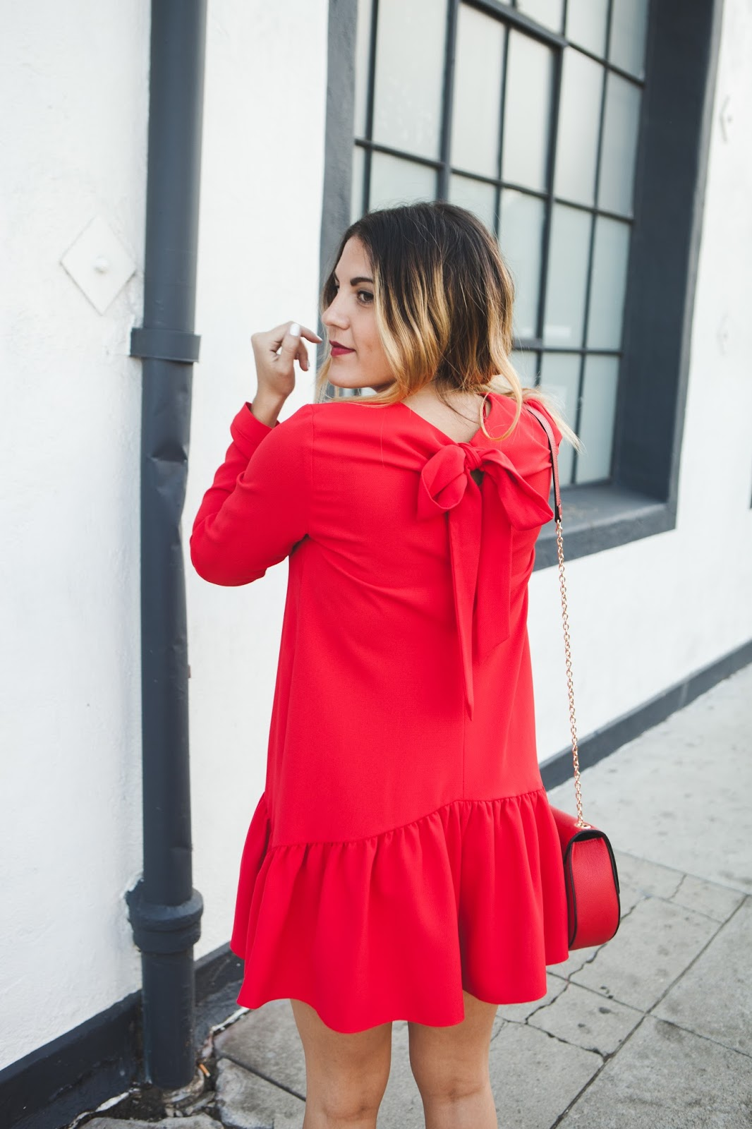 Short Frilled Jumpsuit | Style Blogger Taylor Winkelmeyer