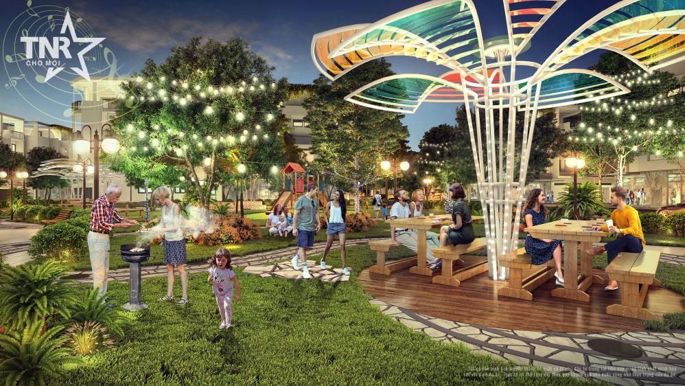 Công viên BBQ Garden – Nơi bình yên quay quần bên gia đình hạnh phúc
