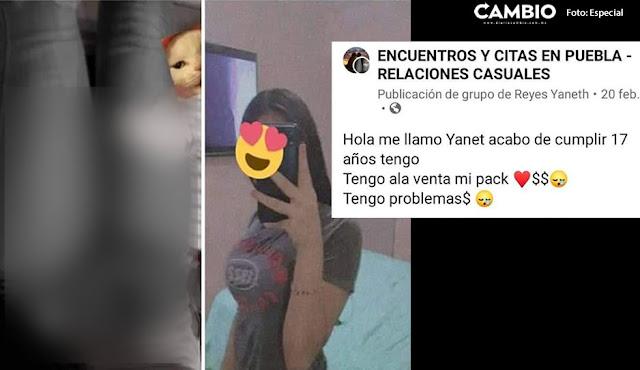 La crisis esta fuerte Teens Poblanas venden fotos en Facebook