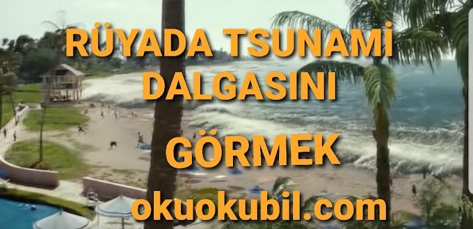 Rüyada Tsunami Dalgasını Görmek Ne Manadadır?