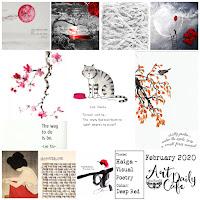 art daily cafe, finnabar, art journal challenge