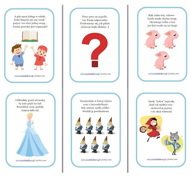 Dzień Książki - Światowy Dzień Książki - 23 kwietnia - szanuj książki - zagadki - karty pracy dla przedszkolaka - Dzień Postaci z Bajek - 5 listopada - jak postępować z książką  - przedszkole - edukacja przedszkolna - edukacja wczesnoszkolna - edukacja domowa