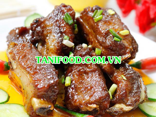 tanifood, tanifood.com.vn, sườn rim mặn