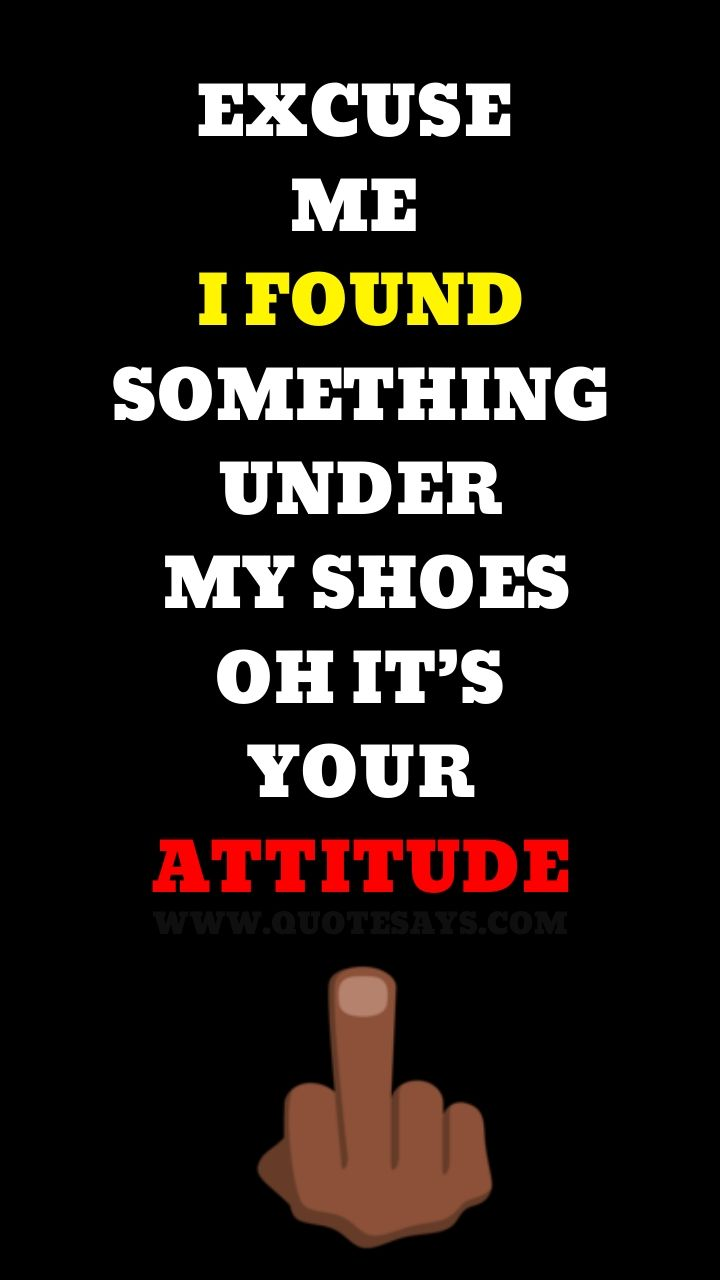 Attitude quotes in English