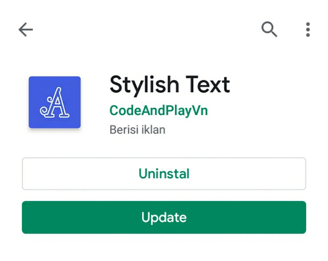 ini dia aplikasi pembuat nickname stylish text