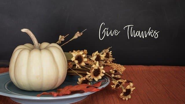 thanksgiving fall