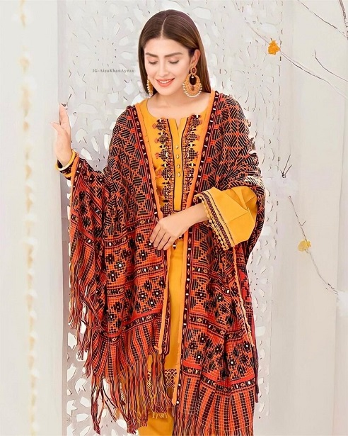 Ayeza Khan New One Photoshoot For Winter Collection 3