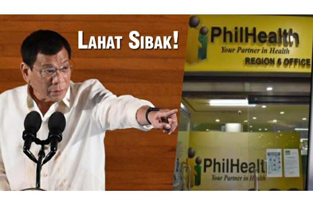 WATCH: Regional Vice President ng PhilHealth, Pinasisibak ni Duterte