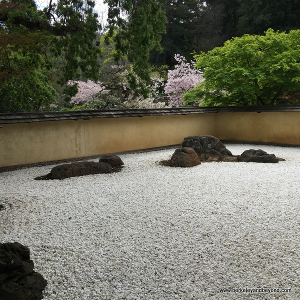 Zen Garden at Hakone Gardens in Saratoga, California