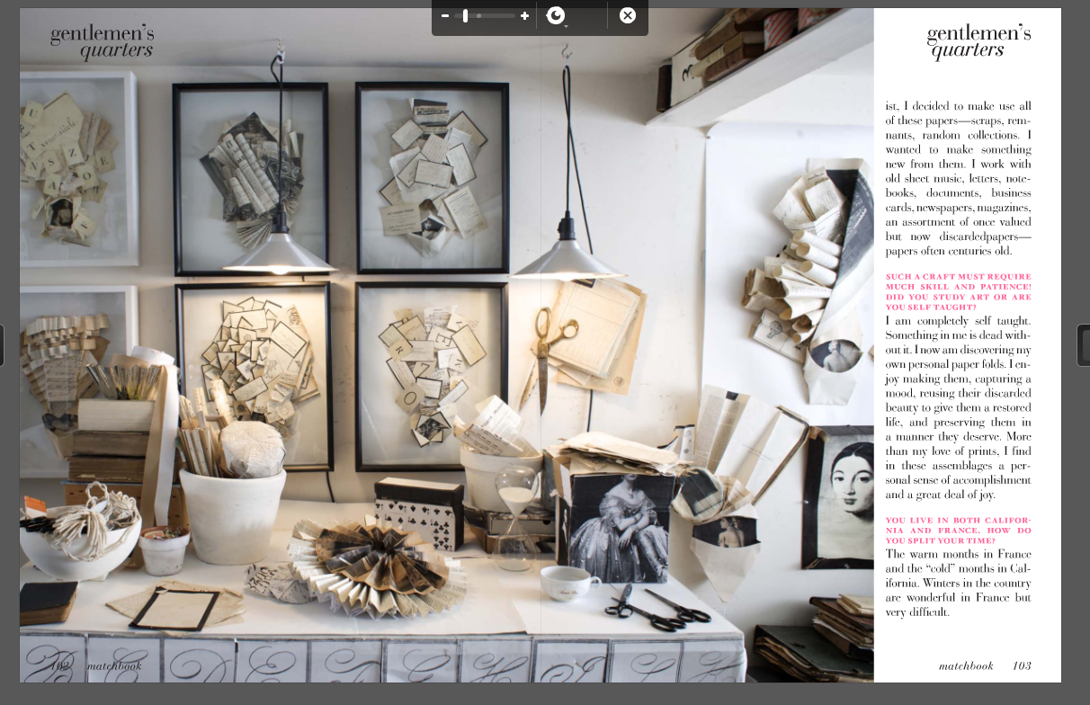 Writing about artists workrooms